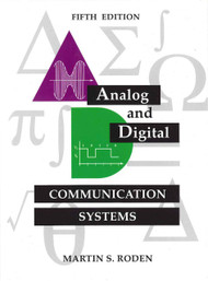MARTIN S. RODEN'S ANALOG & DIGITAL COMMUNICATION SYSTEMS (5TH, 2003)
