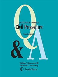 Q&A ON CIVIL PROCEDURE (4TH, 2015) 9781632828583