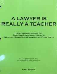 A LAWYER IS REALLY A TEACHER