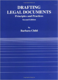 CHILD'S DRAFTING LEGAL CONTRACTS (2ND, 2001) 9780314003256