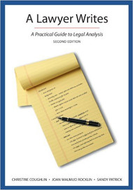 COUGHLIN'S A LAWYER WRITES (2ND, 2013) 9781611633979