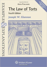 EXAMPLES & EXPLANATIONS: LAW OF TORTS (4TH, 2010) O/E : This book is an old edition and we are unable to stock it as the publisher no longer prints them. 9780735588745