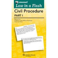 LAW IN A FLASH CARDS: CIVIL PROCEDURE I (2015) 9780735598003