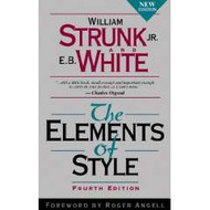 STRUNK'S THE ELEMENTS OF STYLE (4TH, 2000) 9780205309023