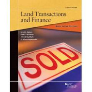 BLACK LETTER OUTLINE ON LAND TRANSACTIONS AND FINANACE (5TH, 2016) 9781634599368