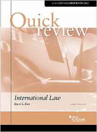 QUICK REVIEW ON INTERNATIONAL LAW (3RD, 2016) 9781634599290