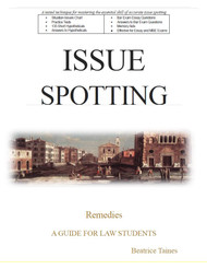 TAINES' ISSUE SPOTTING: REMEDIES
