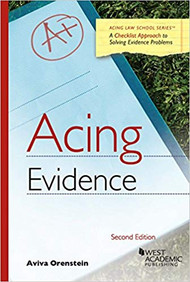 ACING EVIDENCE (2ND, 2016) 9781634606059