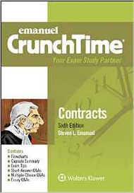 CRUNCHTIME: CONTRACTS (6TH, 2017) 9781454870173