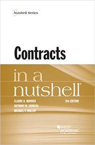 CONTRACTS IN A NUTSHELL (8TH, 2016) 9781634599146