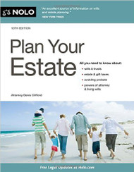 CLIFFORD'S NOLO PLAN YOUR ESTATE (13TH, 2016) 9781413322859