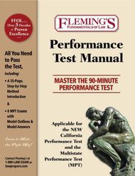 FLEMING'S PERFORMANCE TEST MANUAL (SNEIDMILLER) (1ST, 2017) 9781932440973