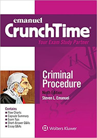 CRUNCHTIME: CRIMINAL PROCEDURE (9TH, 2017) 9781454870203