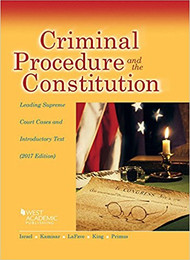 ISRAEL'S CRIMINAL PROCEDURE AND THE CONSTITUTION (2017) 9781683287926