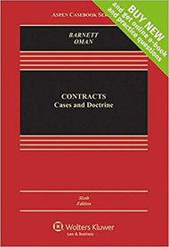 BARNETT'S CONTRACTS: CASES AND DOCTRINE (6TH, 2017) 9781454871033