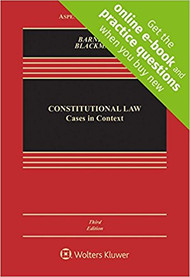 BARNETT'S CONSTITUTIONAL LAW CASES IN CONTEXT (3RD, 2018) 9781454892885