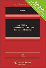 MASSEY'S AMERICAN CONSTITUTIONAL LAW [LOOSELEAF] (5TH, 2016) 9781454877943