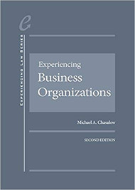 CHASALOW'S EXPERIENCING BUSINESS ORGANIZATIONS (2ND, 2018) 9781683283522