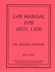 BOROON'S GEOLOGY 1500 (FALL 2018)