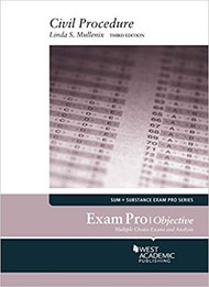EXAM PRO ON CIVIL PROCEDURE - OBJECTIVE (3RD, 2016) 9781634606837
