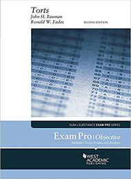 EXAM PRO ON TORTS - OBJECTIVE (2ND, 2017) 9781683287933