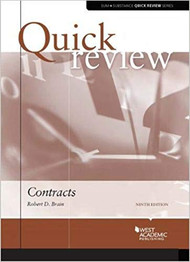 QUICK REVIEW ON CONTRACTS (9TH, 2018) 9781683286769