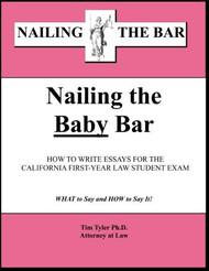 TYLER'S NAILING THE BAR: NAILING THE BABY BAR (2014) 9781936160440