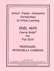 CAMERON'S EDEL 4670 (FALL 2019)