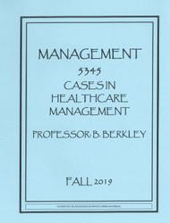 BERKLEY'S MGMT 5345 (FALL 2019)
