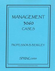BERKLEY'S MGMT 3060(SPRING 2020)
