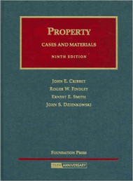 CRIBBET'S PROPERTY CASES AND MATERIALS (9TH, 2008) 9781599412528