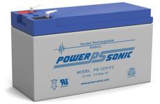 Power-Sonic PS-1270 F2 Battery - 12V 7Ah SLA