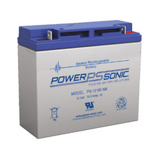 PS-12180 NB Power Sonic Battery - 12V 18Ah (Nut & Bolt)