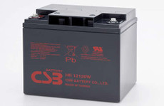 HR12120W FR CSB Battery - 12 Volt 28.0 AH, 120 Watts