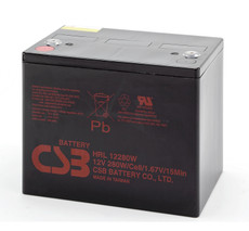 CSB HRL12280W FR Battery - 12 Volt 75.0 AH 280 Watts