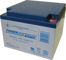 Power-sonic PS-12260 F2 Battery - 12 Volt 26.0 Amp Hour