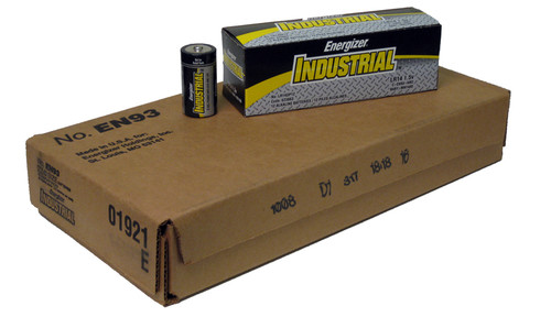 Energizer EN93 C Cell Industrial Battery (Case of 72)