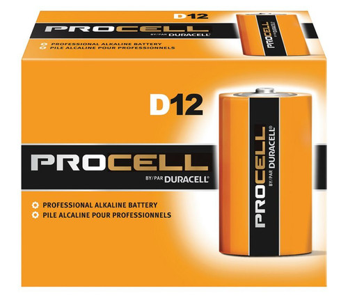 Duracell Procell D Cell Batteries - PC1300 - Case of 72