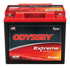 Odyssey PC1200 Sealed AGM Drycell Battery - 12V 44.0AH
