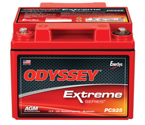 Odyssey PC925LMJ Battery - 12V 28.0AH Rev. Term. with Metal Jacket