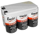 0860-0114 Enersys Cyclon Battery-12 Volt 4.5AH 2x3 Hawker DT w Tabs