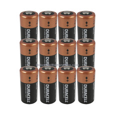 Duracell DL2/3A Battery - 3 Volt Lithium 2/3A Camera, Photo (12 Pack)
