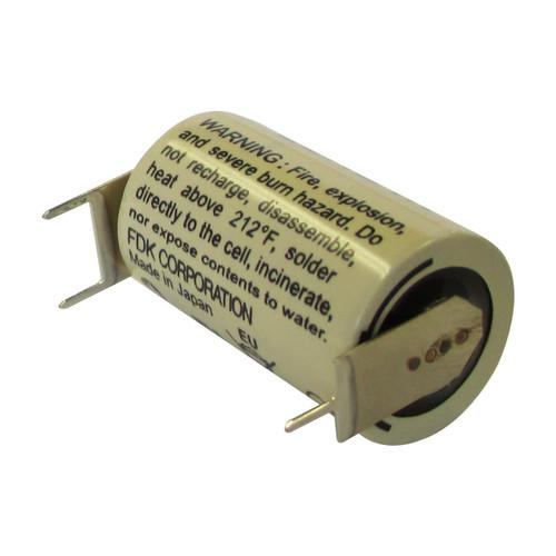 FDK CR14250SE-FT 3V Lithium Battery - 3 Volt 850mAh - 3 Pins