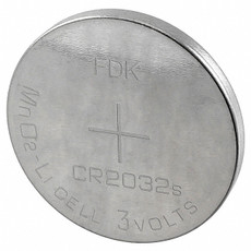 FDK CR2032 Battery - 3 Volt 220mAh Lithium Coin Cell