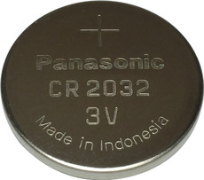 Panasonic CR2032 Battery - 3 Volt 235mAh Lithium Coin Cell