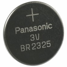 Panasonic BR2325 Battery - 3 Volt 165mAh Lithium Coin Cell
