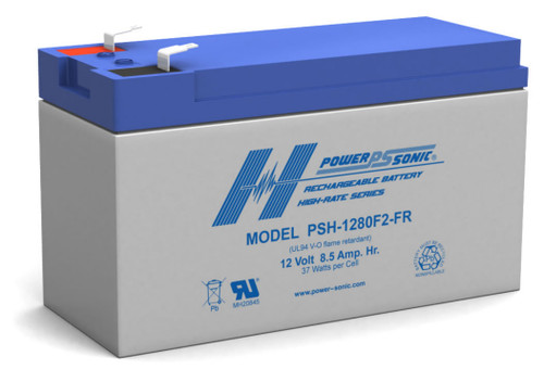 Power-sonic PSH-1280F2-FR 12 Volt 8.5AH High Rate
