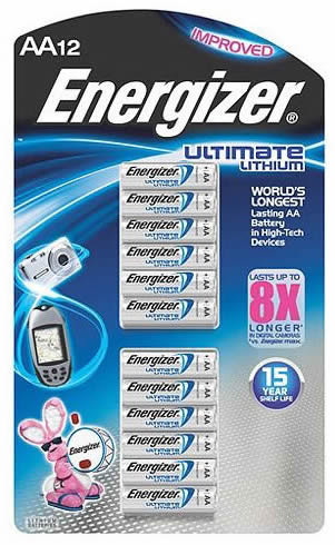 Energizer L91 AA Ultimate Battery