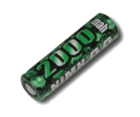 Elite 1700 Battery - High Rate Flat Top 2000mAh AA NiMH