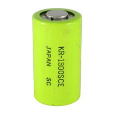 Panasonic KR-1800SCE Sub C Cell NiCd Battery - 1.2 Volt 1800mAh